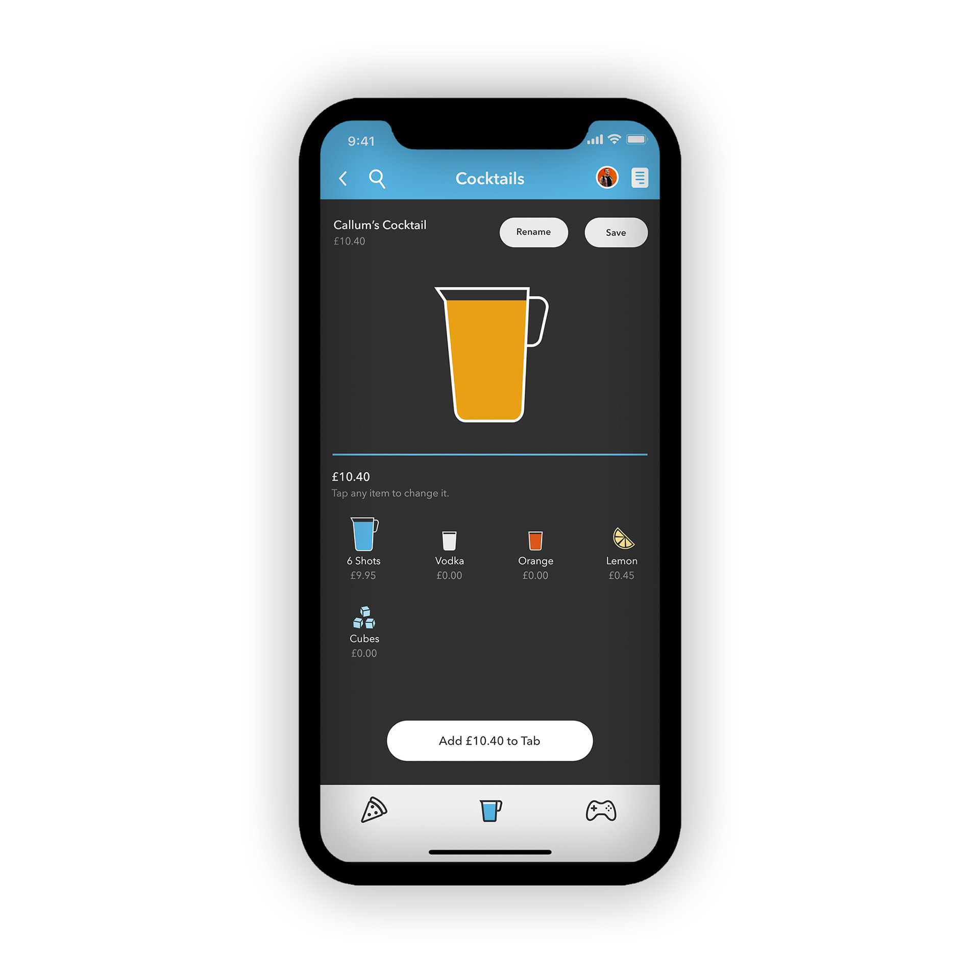 The Hub - Drinks