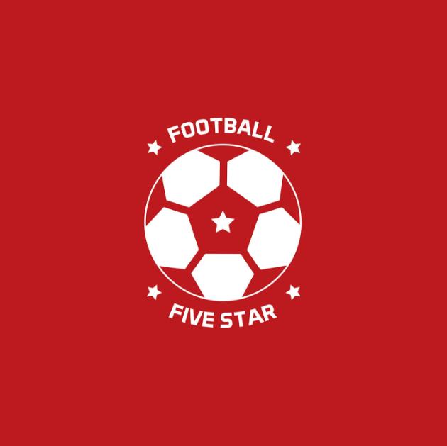 Football Five Star Logo